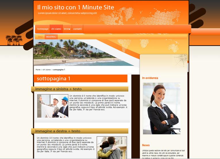 Grafica siti web crea il tuo sito web personalizzato e for Crea il tuo sito web personale